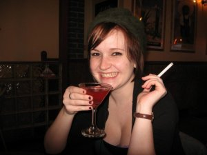 2007 - drinking, smoking, and a questionable hat.