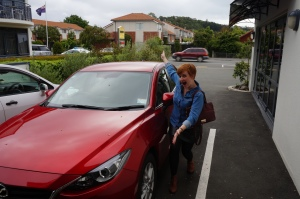 Me with car